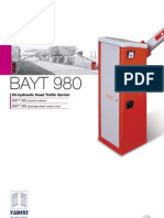 Bayt 980 Gate Barrier