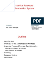 Graphical Password Authentication System