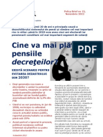 raport pensii
