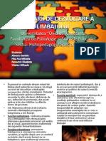 TULBURĂRII DE DEZVOLTARE A LIMBAJULUI +terapie (1)