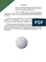 Proiect Aspirina