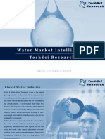 Water Market Intelligence - TechSci Research