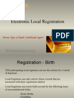 TERLocalRegistration