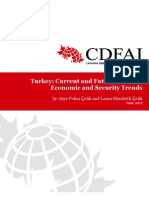 Turkey Current and Future Political, Economic and Security Trendsb