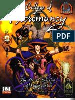 3.5 D&D Secret College of Necromancy