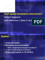 High-Speed Backplane Interconnect