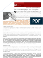 Expansión - Emprendedores & Empleo - Redes Sociales - Los excesos se pagan con el empleo Arancha Bustillo - 11-04-2013