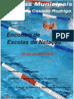 regulamento encontro natação