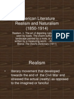 American Realism Lecture Powerpoint