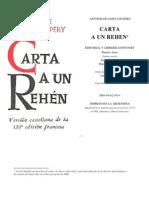 Carta a Un Rehen(a.saint Exupery)