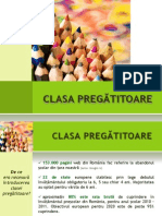 Prezentare Clasa Pregatitoare