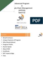 Detailed Program Content - APSCMx02 Ver 1.0