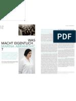 Neues von unseren Preisträgern // Marina Abramovic im Interview