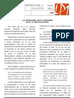 LP1 Nexo Teoría-Práctica 2 LUZ 2013