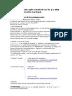 Curso de técnicas y aplicaciones de las TIC y la WEB 2