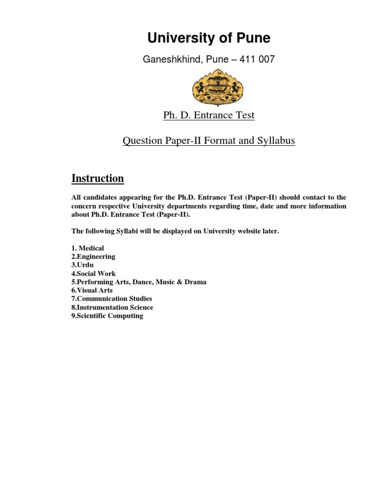 Subjectwise Syllabus For Paper II Buddhist Texts