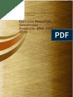 Ejercicios Resueltos Selectividad Andalucia Anos 2008 a 2010