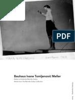 Bauhaus Ivane Tomljenović Meller