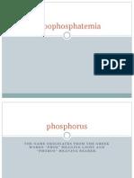 Hypophosphatemia