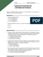 Ejercicios. Distribucion Poisson