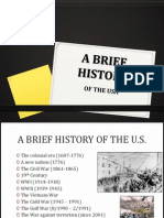 A Brief History of America Ppt
