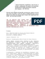 jurisprudencias-desistencia-desclassificação