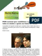 PSDB nacional quer candidatura a governador em todos os estados e aposta em Cássio na Paraíba