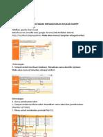 MEMBUAT DATABASE MENGGUNAKAN APLIKASI XAMPP.docx