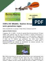 COPA DO BRASIL Santos Decepciona e Mais Nove Garantem Vagas