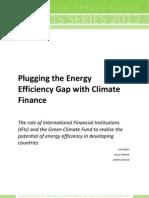 PluggingEnergyEfficiencyGapwithClimateFinance WEB