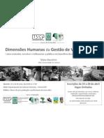 Dimensões Humanas da Gestão da Vida Silvestre - ESALQ / USP