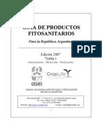 Guia de Prductos Fitosanitarios (2007) Tomo 1