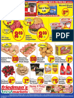 Friedman's Freshmarkets - Weekly Specials - April 11 - 17, 2013