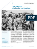 Women, Peace and Security:Sexual Violence in Conflict and Sanctions
