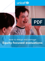 EWP5 Equity Focused Evaluations