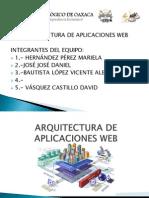 Arquitectura de Aplicaciones Web