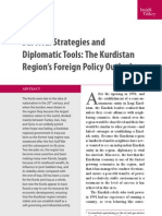 Survival Strategies and Diplomatic Tools The Kurdistan Region's Foreign Policy Outlook, By Shwan Zulal