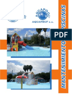 Manual Informativo Para Mantenimiento de Piscinas Aquapool PDF 2011
