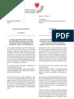 Anzeige gegen Mineralölkonzerne bei Antitrustbehörde wegen Preisabsprachen - Genehmigter Beschlussantrag der BürgerUnion