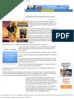 10 dicas de segurança na utilização de transporte ferroviário - DDS Online