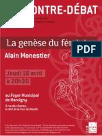 La genese du féminin par A. Monestier