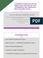APRESENTAÇÃO  TCC CRISTIANE BORSSOE DUARTE
