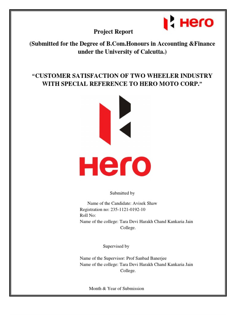 project report on hero company Founded in 2008, project hero is a groundbreaking national non-profit organization dedicated to helping veterans and first responders affected by ptsd, tbi and injury achieve rehabilitation, recovery and resilience in their daily lives and increasing awareness to combat the national mental health emergency posed by ptsd and tbi.