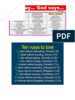 10 Things Christians Can Do Everyday