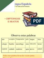 presentacion Diptongo Hiato