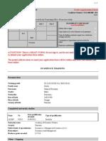 Applicant Form PDF