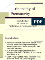 referat Retinopathy of Prematurity - Nabila Sindami