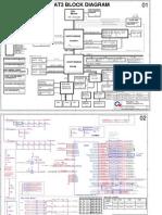HP Pavilion Dv6000 Dv6500 Dv6600 Dv6700 Dv9000 Dv9500 - DA0AT3MB8F0 - QUANTA AT3 - SC (Intel) - Rev 1A