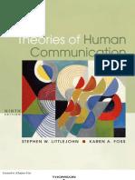 Littlejohn95877 0495095877 02.01 Chapter01 Human Communication
