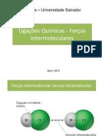Aula - Força intermoleculares
